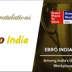 Nuestra Sociedad Ebro India se alza con el puesto n°11 del India's Great Mid-Size Workplaces - 2018