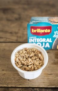 Vasito Brillante Arroz integral con Soja
