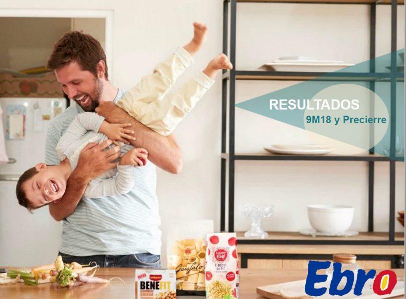 Presentación relativa a los resultados del Grupo Ebro Foods