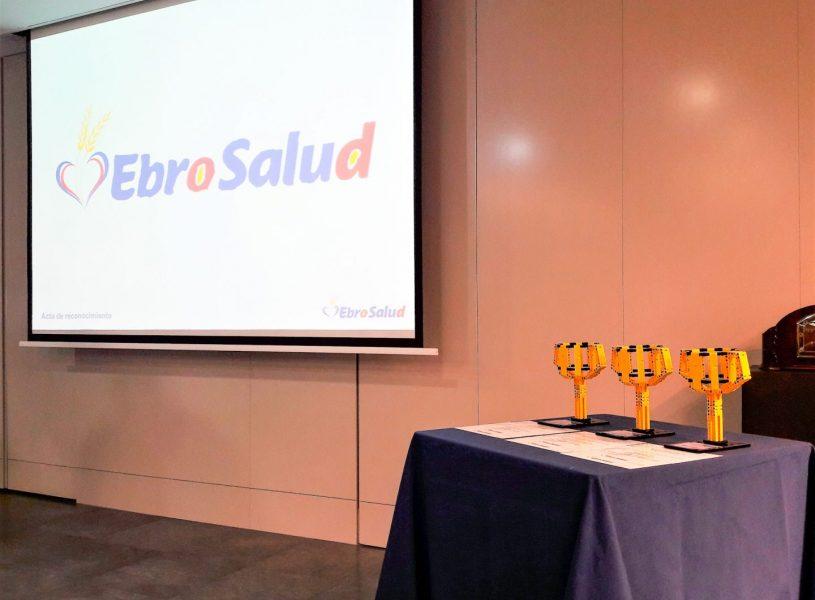 Entregamos los premios a los ganadores de la 1ª edición del proyecto EbroSalud