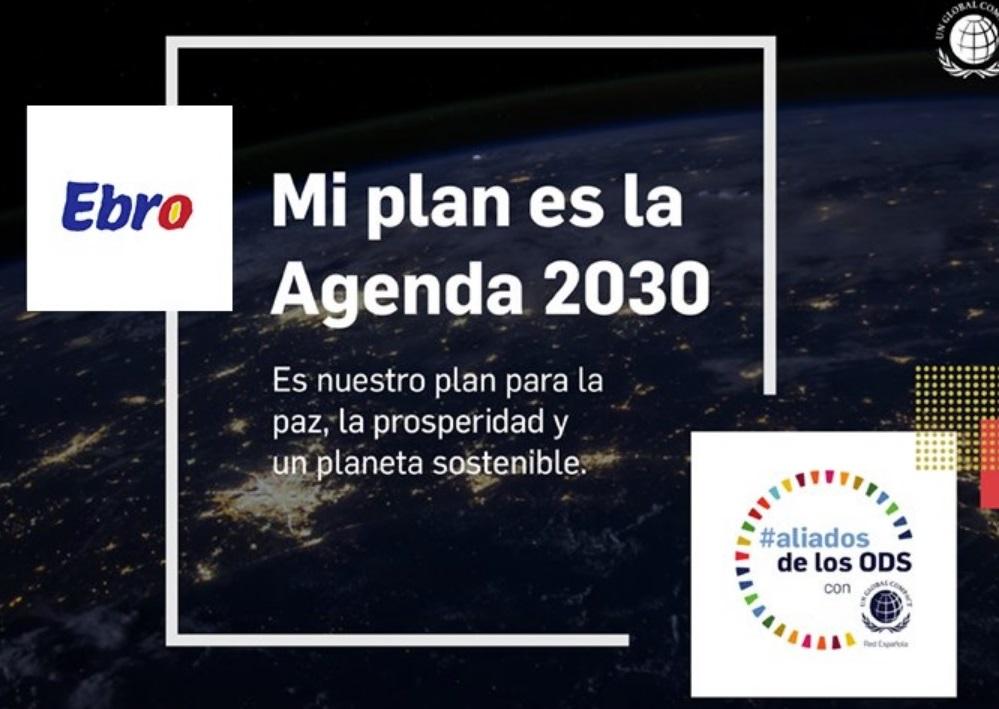 Ebro Foods se suma a la campaña #aliadosdelosODS promovida por la Red Española del Pacto Mundial