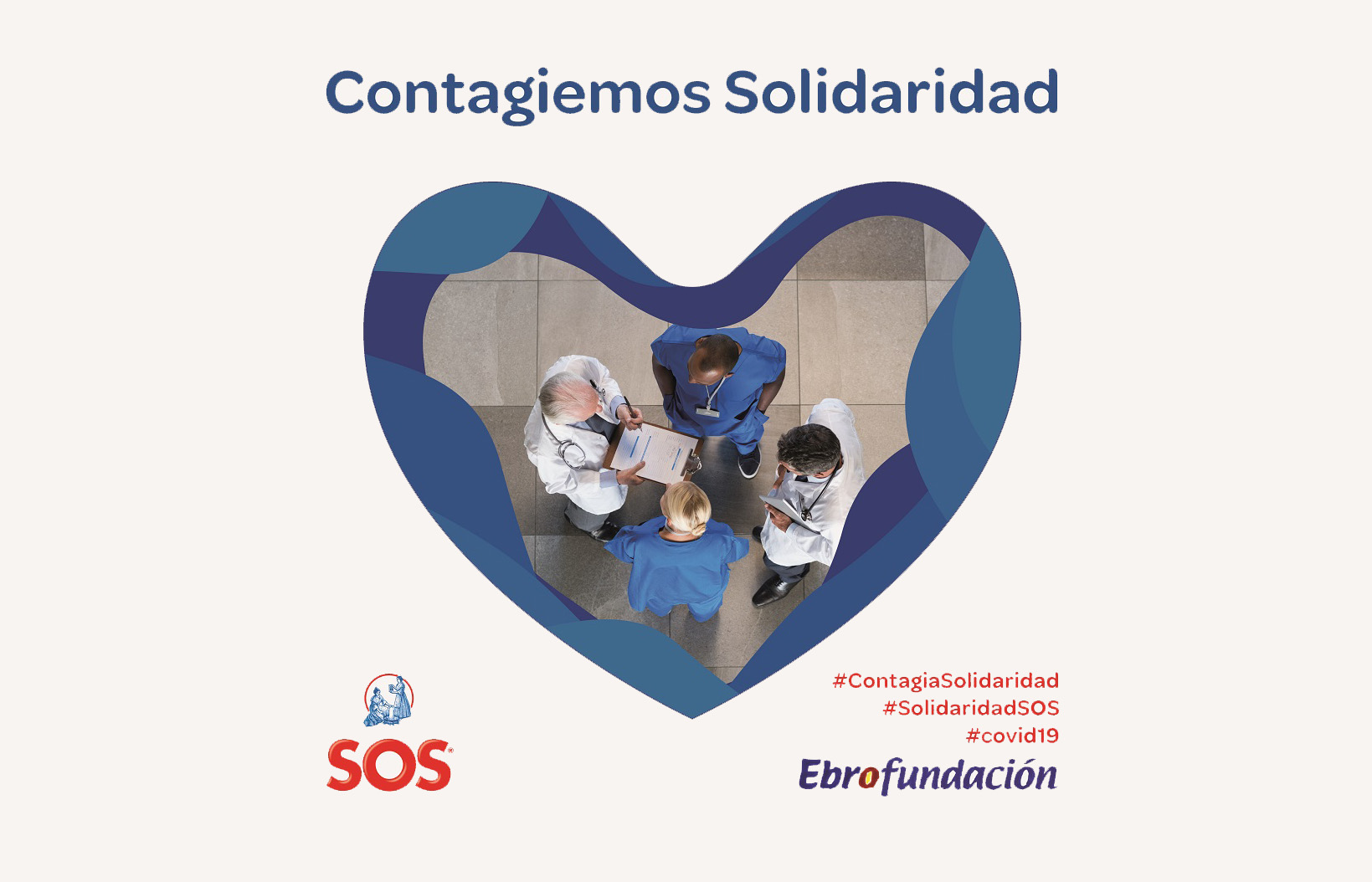 Ebro channels one million euros through its Arroz SOS brand for the battle against Covid-19