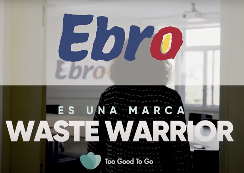 Ebro Foods joins 'Waste Warrior Brands' against food waste